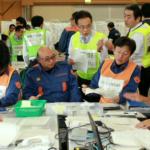 大分県の災害図上訓練