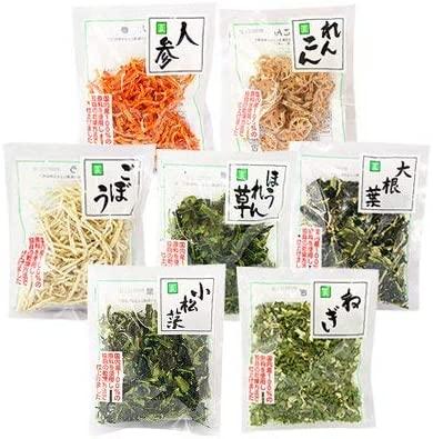 乾燥野菜7種セット